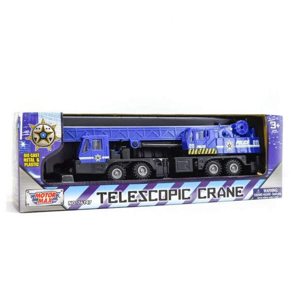 Police Telescopic Crane