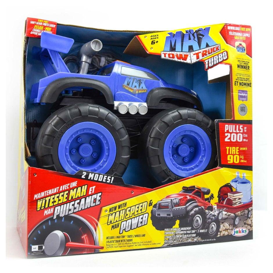 Max Tow Truck Turbo - Blue