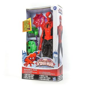 "Spider-Man 11"" Figure 11"" with Attack Gear"