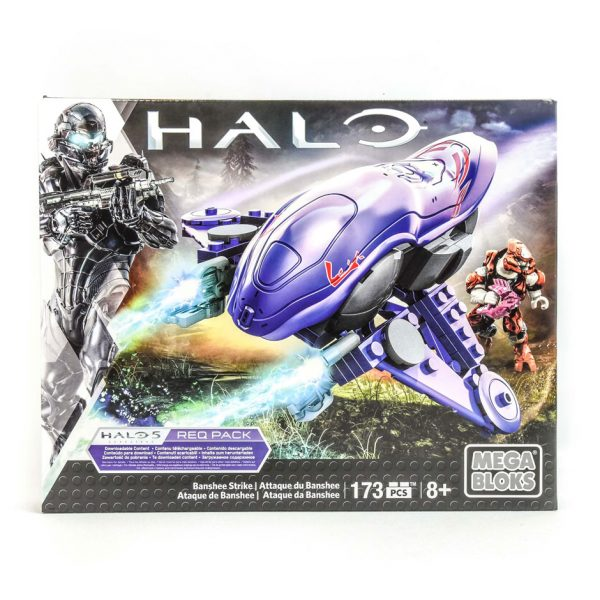 Halo Banchee Strike 173 Piece Mega Bloks Set