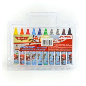 Disney Planes Jumbo Crayons (10 Pack)