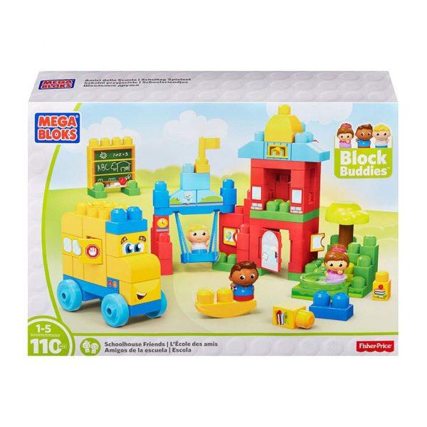Mega Bloks Schoolhouse Friends 110 Piece Set