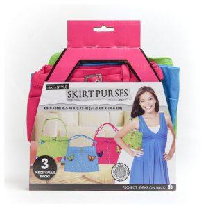 Skirt Purses (3 Pack)