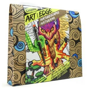 Crayola Art with Edge: Naturescapes 40 Piece Colour Studio