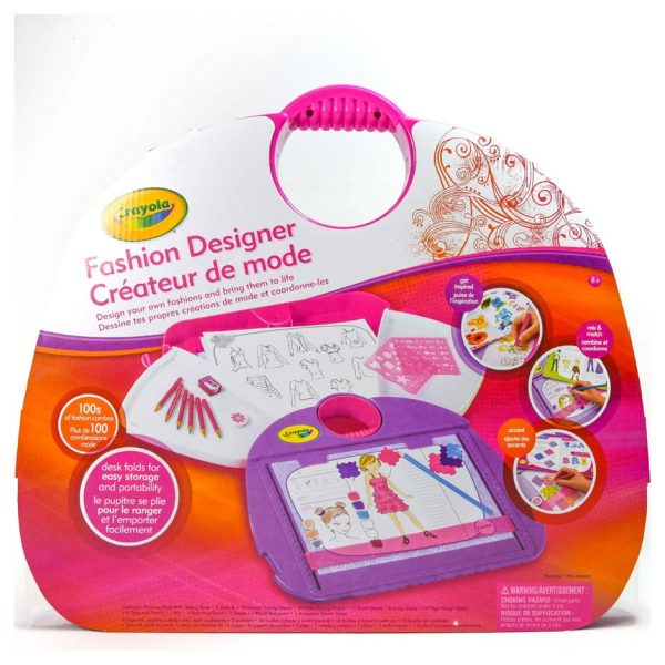 Crayola Fashion Designer Case