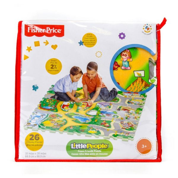 Fisher-Price Little People Foam Friends 26 Piece Floor Puzzle