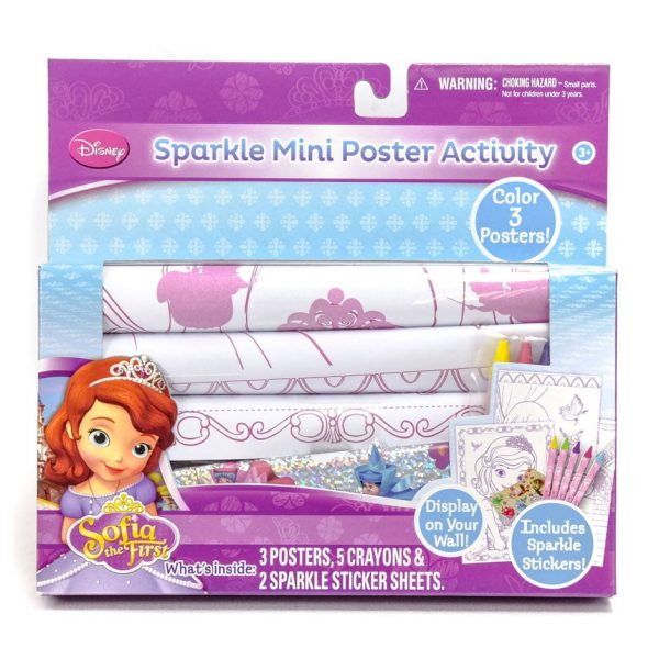 Sofia the First Sparkle Mini Poster Activity Set