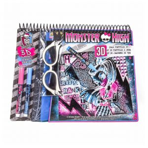 Monster High 3D Chalk Portfolio Kit