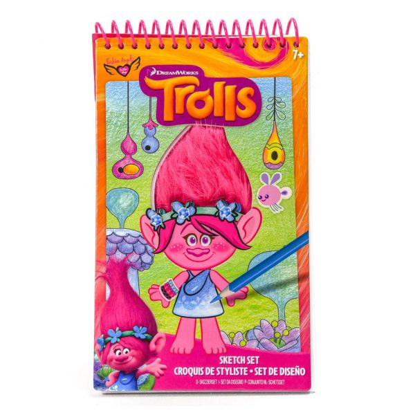 Trolls Sketch Set