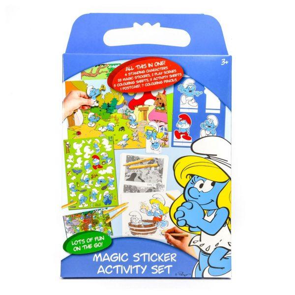 Smurfs Magic Sticker Activity Set