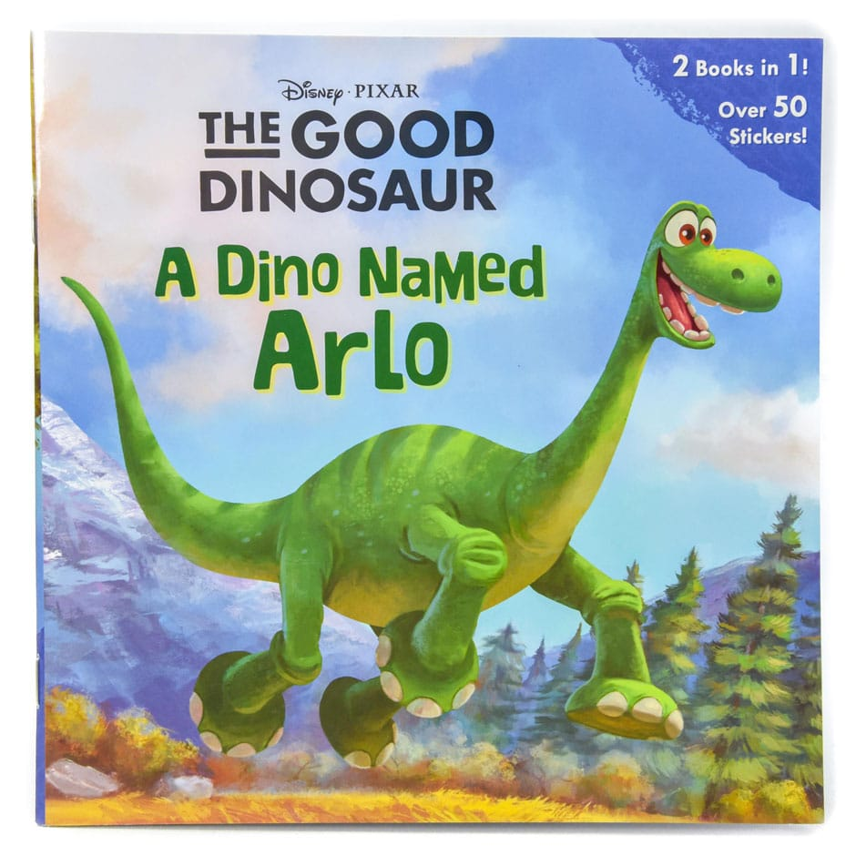 the good dinosaur 2 stories in 1 a dino named arlo and a boy named