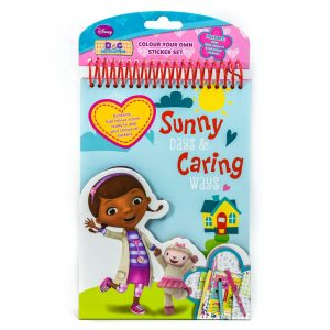 Doc McStuffins Colour Your Own Sticker Set