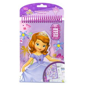 Sofia the First Colour Your Own Sticker Set
