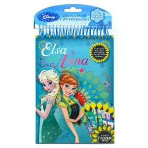 Elsa & Anna Colour Your Own Sticker Set