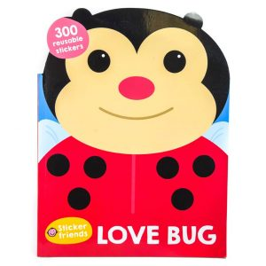Love Bug Sticker Friends Book