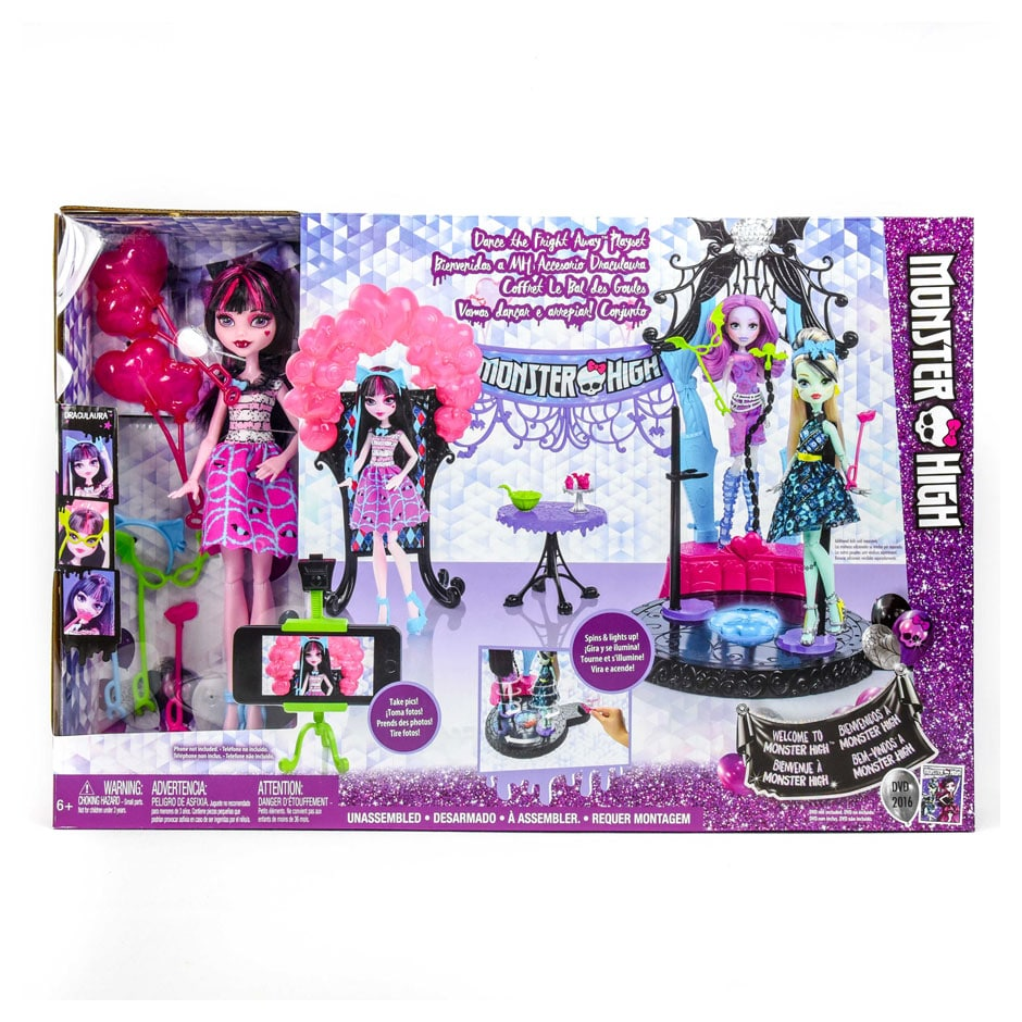 Monster High Dance The Fright Away Playset Samko And Miko Toy