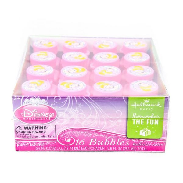 Disney Princess Cinderella 16 Piece Bubble Pack