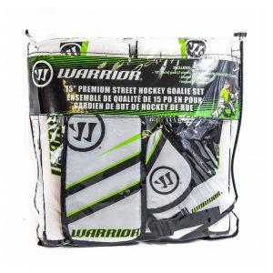 "Warrior 15"" Premium Street Hockey Goalie Pad Set"
