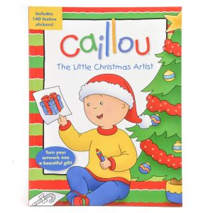 Caillou The Little Christmas Artist
