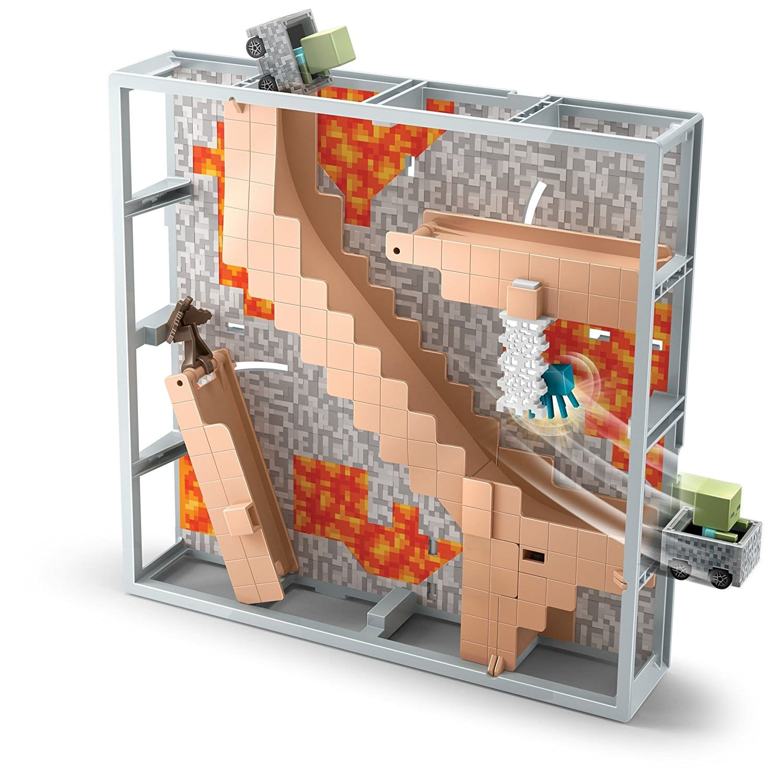 Walmart Minecraft Toys For Boys : All sps hot wheels minecraft track blocks abandoned