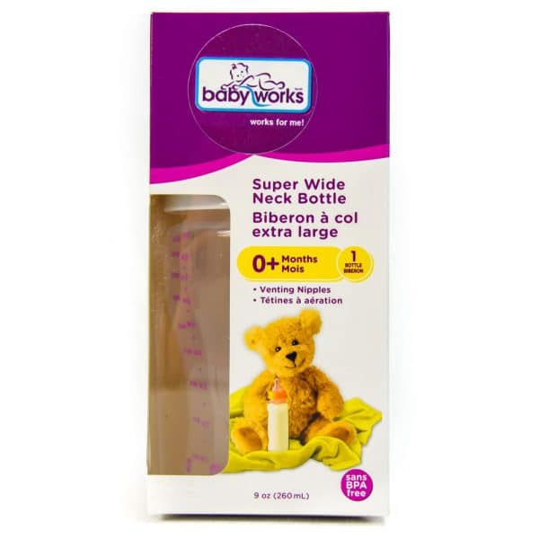 BabyWorks Super Wide Neck Bottle