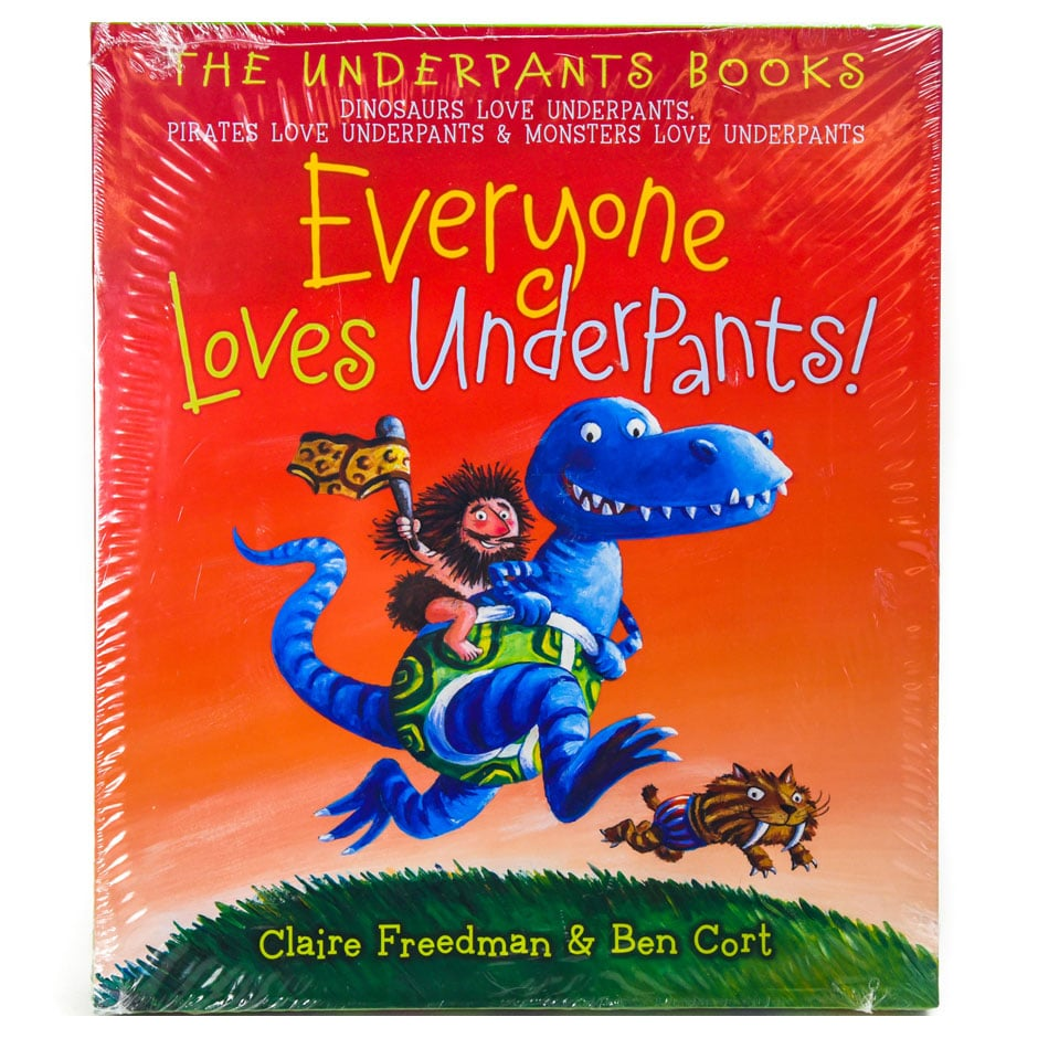 dinosaurs love underpants the underpants books
