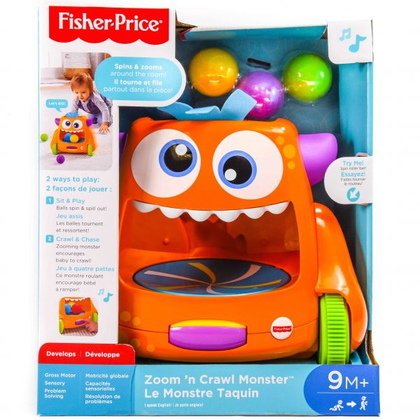 Fisher-Price Zoom and Yawn Monster