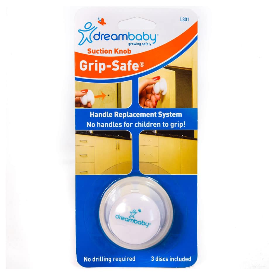 Grip Safe Suction Knob
