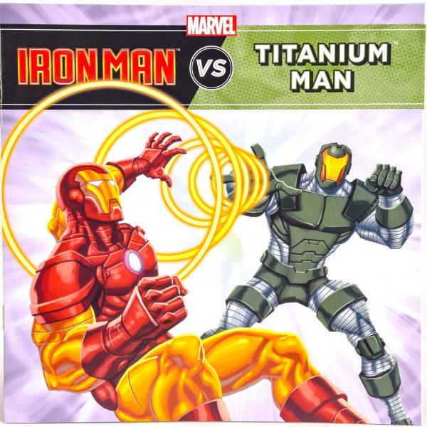 Ironman vs Titanium Man