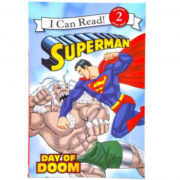 I can read Superman Book