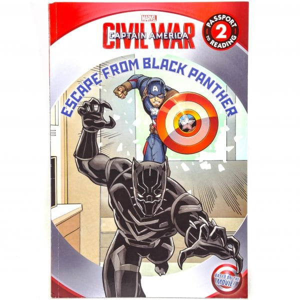 Marvel Book Escape from Black Panther