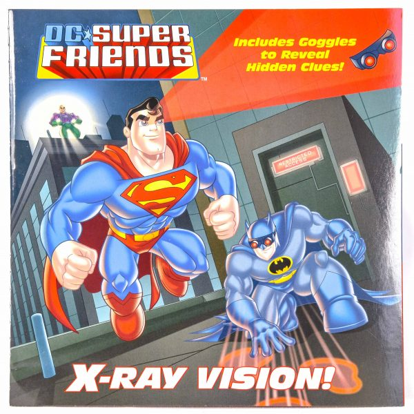 DC Super Friends X-Ray Vision Book