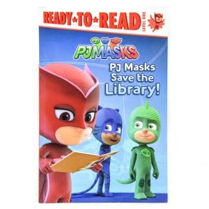 PJ Masks Save the Library! (Read-To-Read: Level 1)