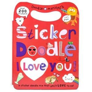 Sticker Doodle I Love You!