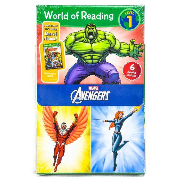 Avengers: World of Reading: Level 1 (6 Book Set)
