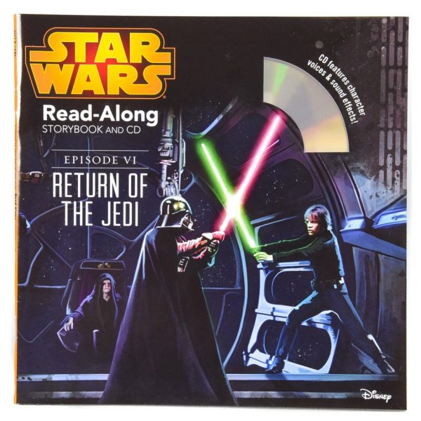 Star Wars Return of the Jedi Read-Along Storybook and CD