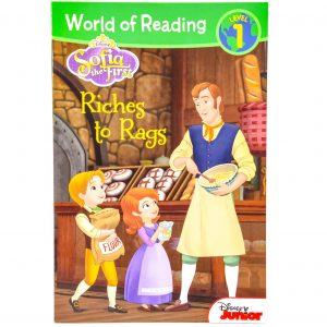 Sofia the First Riches to Rags Book