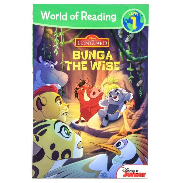 The Lion Guard: Bunga the Wise (World of Reading: Level 1)