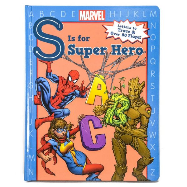 S is for Super Hero ABC