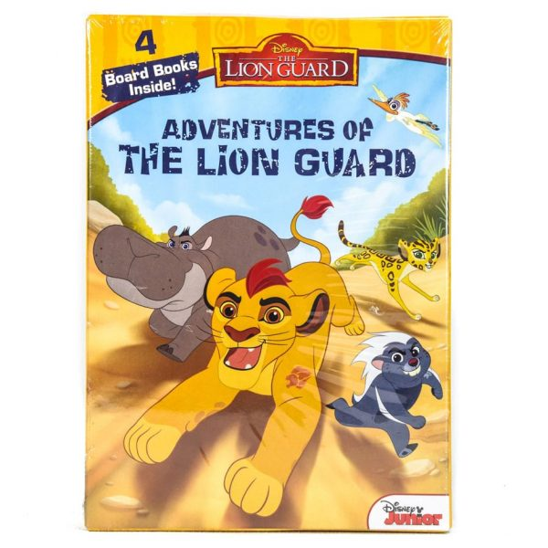 The Lion Guard: Adventures of the Lion Guard (4 Board Book Set)