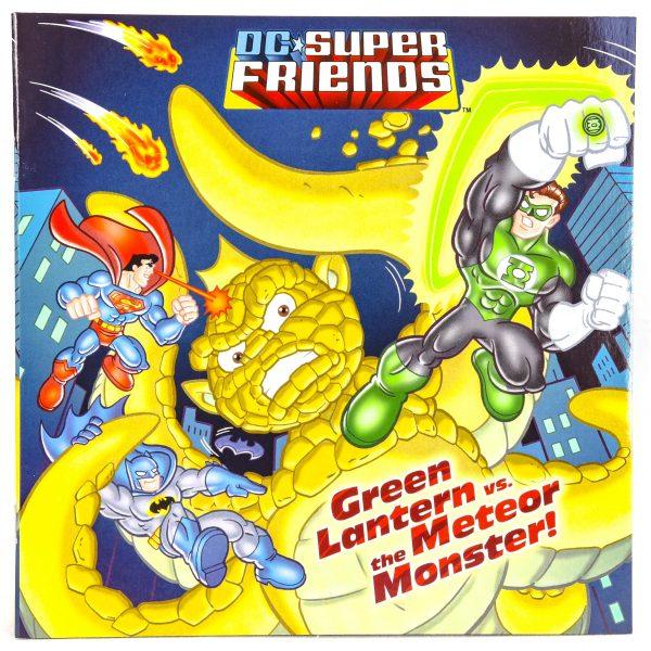 DC Super Friends Green Lantern vs the Meteor Monster