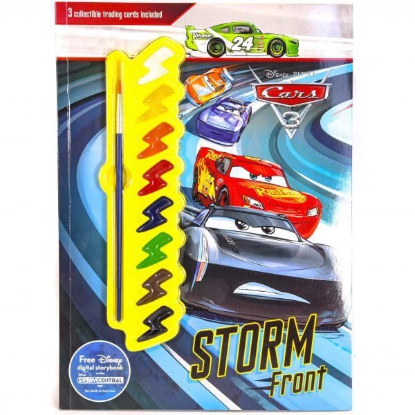 Disney Cars Painting Activity Book