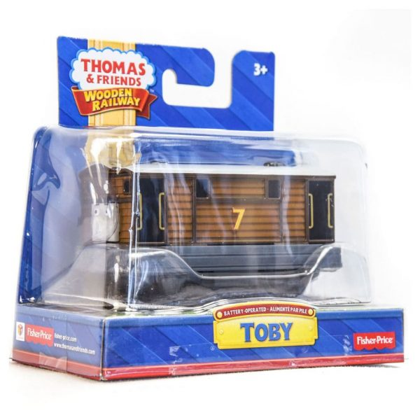 Thomas & Friends Wooden Railway: Battery Operated Toby