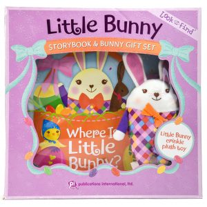 Little Bunny Storybook and Bunny Gift Set