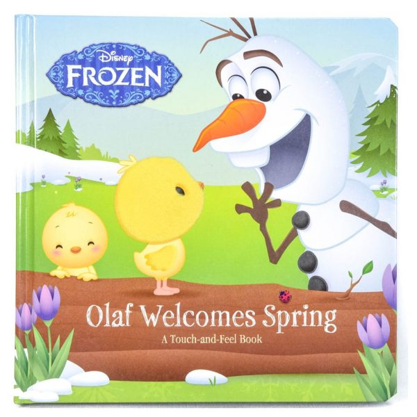 Olaf Welcomes Spring: A Touch-and-Feel Book