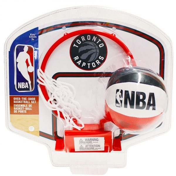 Toronto Raptors Over the Door Basketball Set