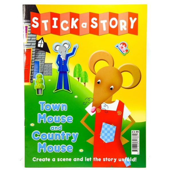 Stick a Story: Town Mouse and Country Mouse