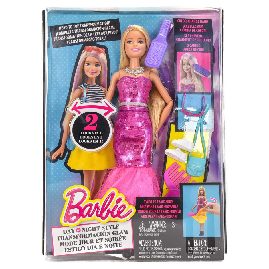 Barbie Day to Night Style Doll