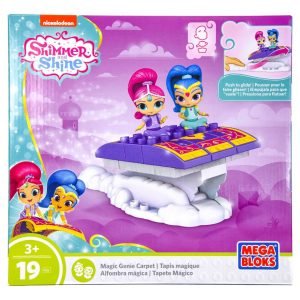Shimmer and Shine: Magic Genie Carpet (19 Piece Mega Blocks Playset)