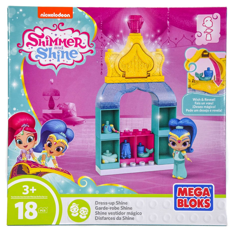 Shimmer and Shine: Dress Up Shine (18 piece) Mega Bloks Set